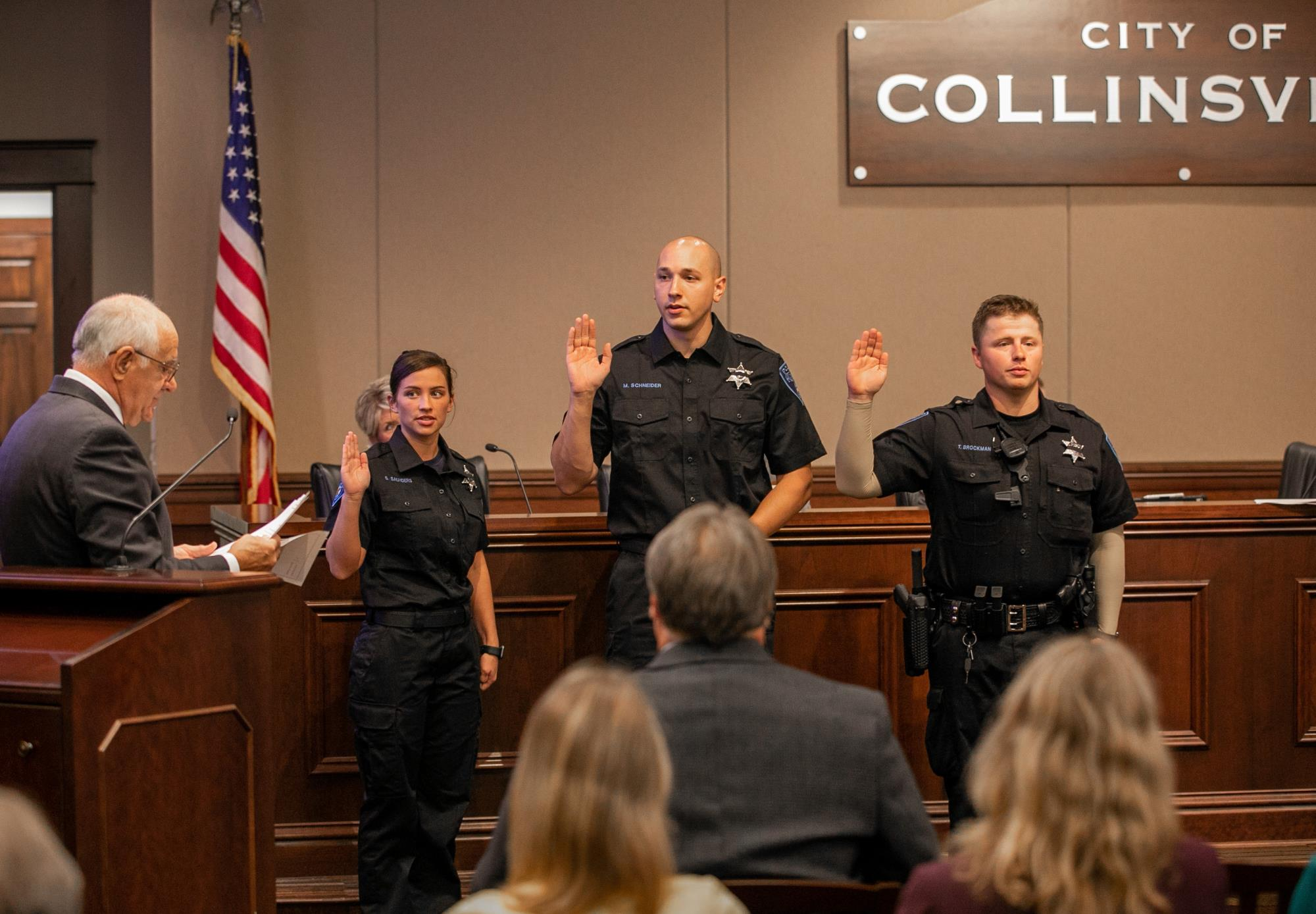 New Police Officers, Promotions, Retirements August 26, 2019