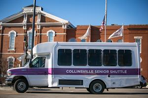 Collinsville Senior Shuttle Bus