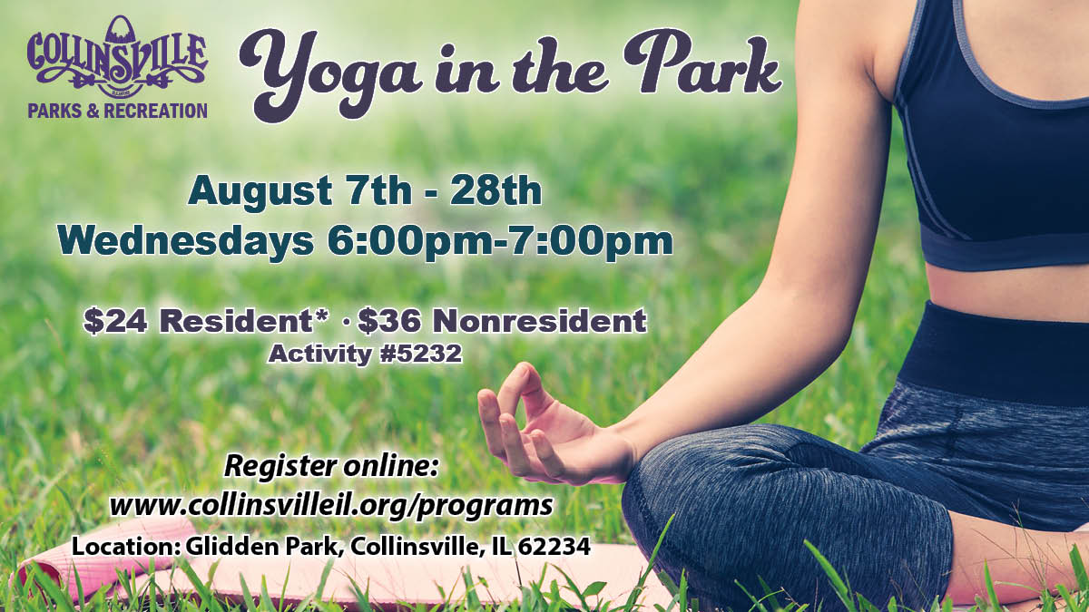 Yoga in the Park Flyer Aug
